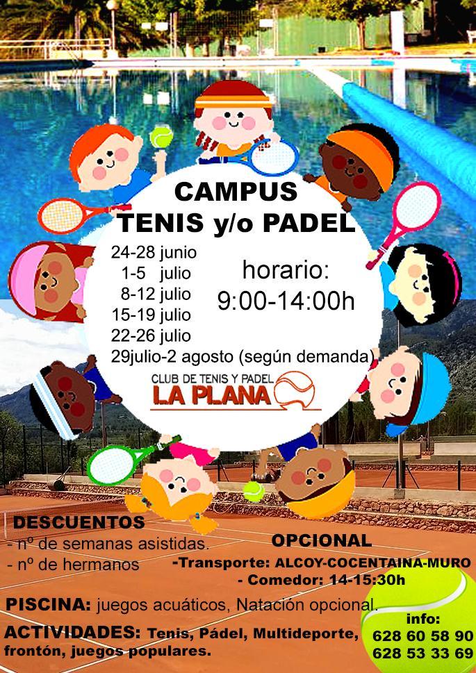 Campus Tenis y Padel La Plana