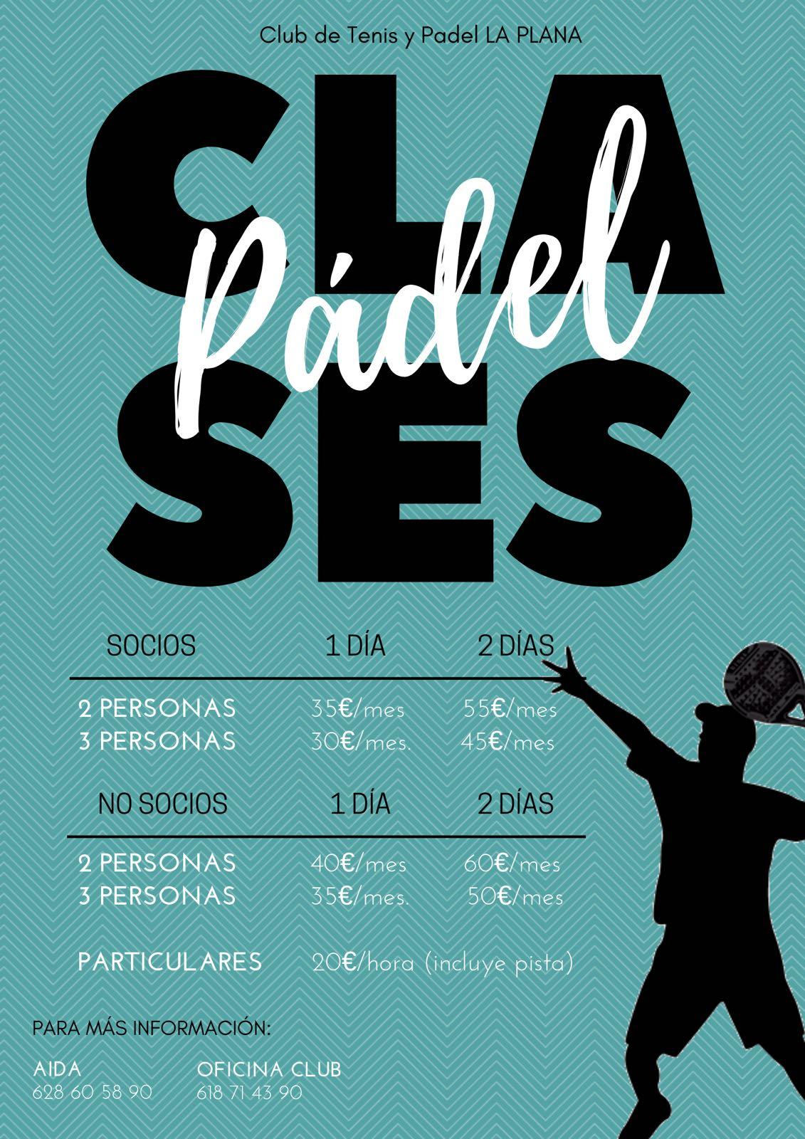 Clases de Padel en CTP La Plana